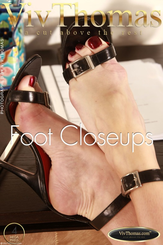 Sophie Moon - `Foot Closeups` - by Viv Thomas for VIVTHOMAS