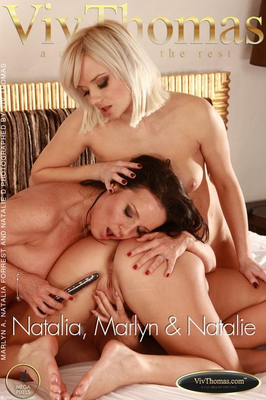 Marlyn A & Natalia Forrest & Natalie D - `Natalia` - by Viv Thomas for VIVTHOMAS