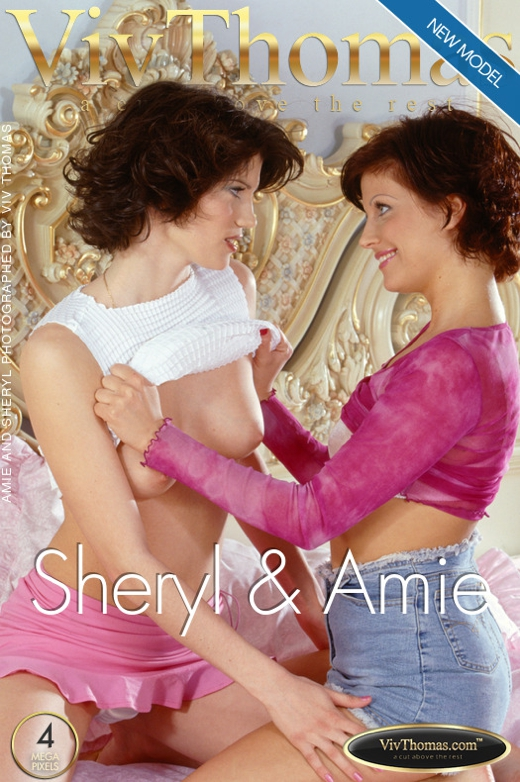 Amie A & Sheryl A - `Sheryl & Amie` - by Viv Thomas for VIVTHOMAS