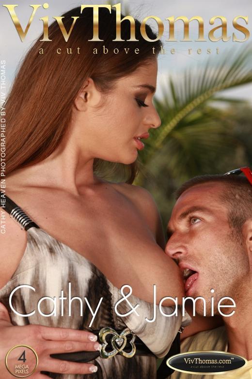 Cathy Heaven & Jamie C - `Cathy Heaven & Jamie` - by Viv Thomas for VIVTHOMAS