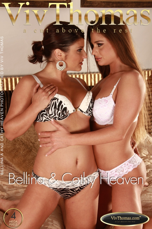 Bellina A & Cathy Heaven - `Bellina & Cathy Heaven` - by Viv Thomas for VIVTHOMAS