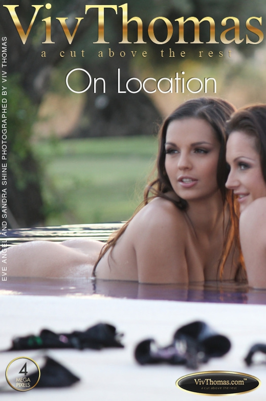 Eve Angel & Sandra Shine - `On Location` - by Viv Thomas for VIVTHOMAS