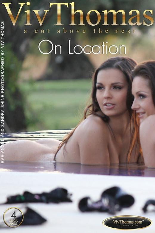 Eve Angel & Sandra Shine - `On Location` - by Viv Thomas for VIVTHOMAS