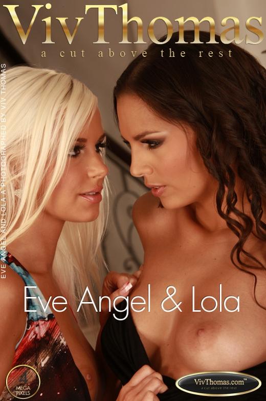 Eve Angel & Lola A - `Eve Angel & Lola` - by Viv Thomas for VIVTHOMAS