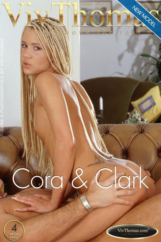 Cora A - `Cora & Clark` - by Viv Thomas for VIVTHOMAS
