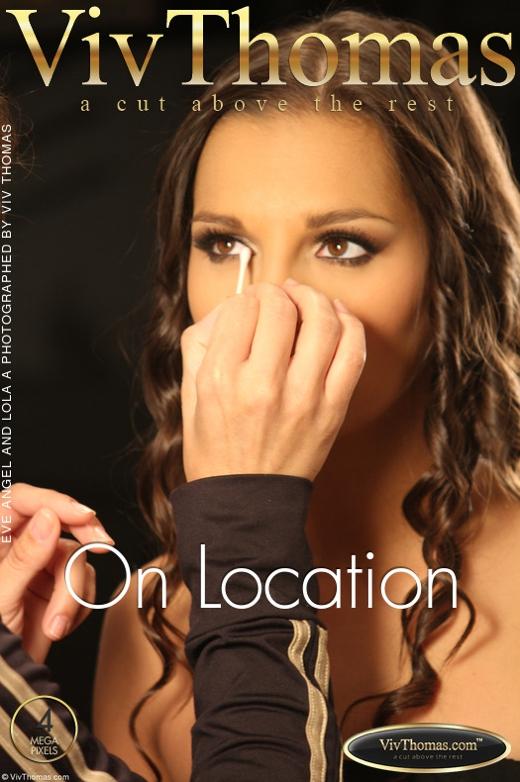 Eve Angel & Lola A - `On Location` - by Viv Thomas for VIVTHOMAS