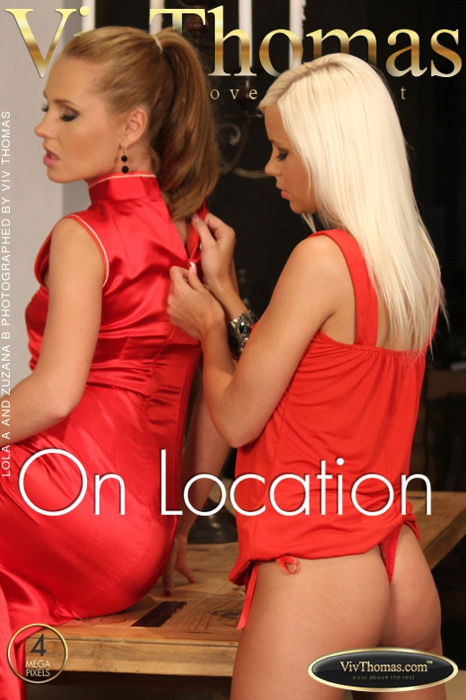 Lola A & Zuzana B - `On Location` - by Viv Thomas for VIVTHOMAS