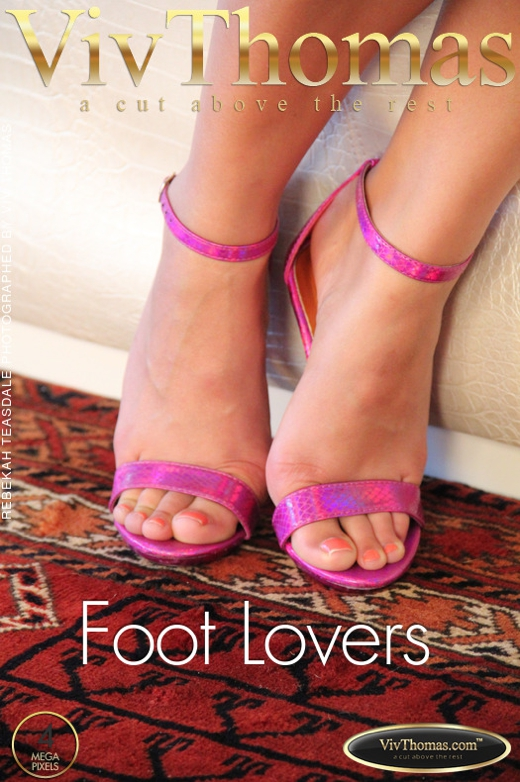 Rebekah Teasdale - `Foot Lovers` - by Viv Thomas for VIVTHOMAS