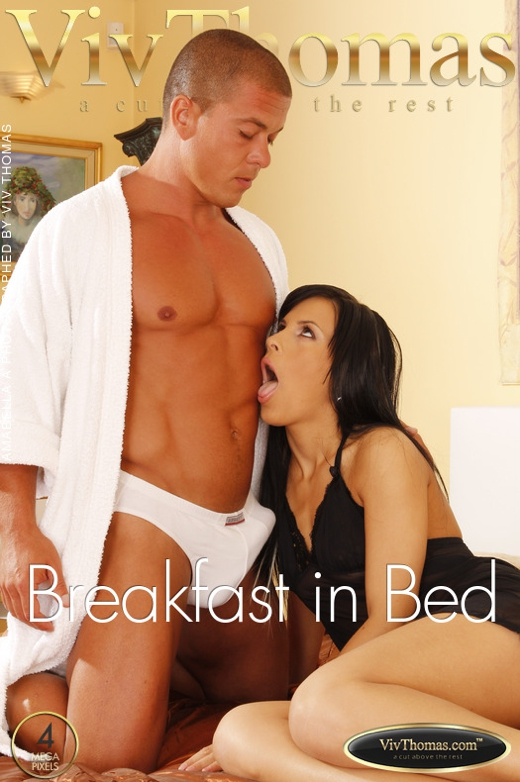 Amabella A & Matt Bird - `Breakfast in Bed` - by Viv Thomas for VIVTHOMAS