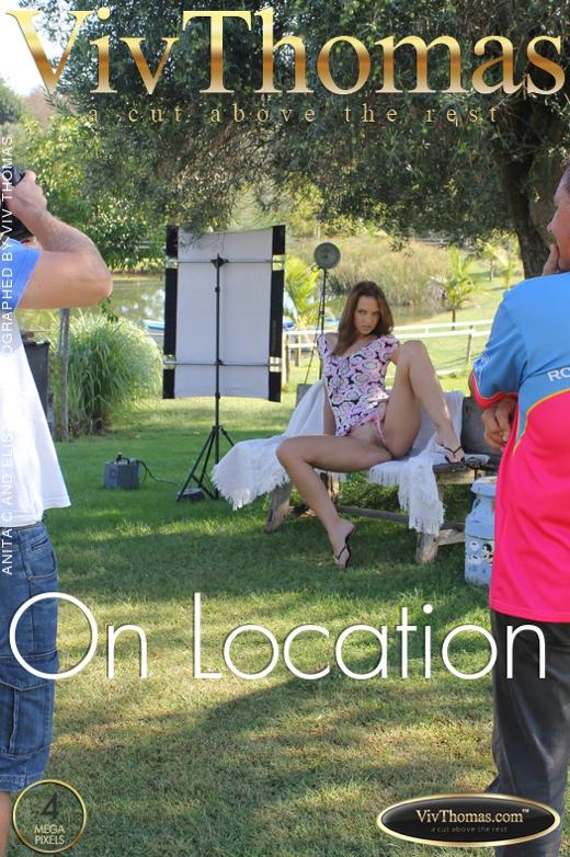 Anita C & Elisa A - `On Location` - by Viv Thomas for VIVTHOMAS