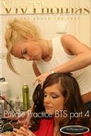 Gina B & Kathy Moore & Mya Diamond & Sandra Shine & Zuzana Drabinova - Private Practice BTS part 4