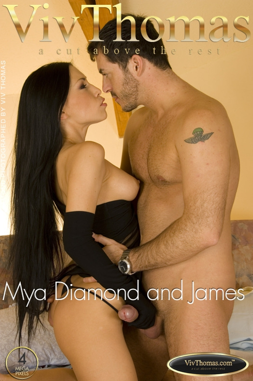 Mya Diamond & James Brossman - `Mya Diamond and James Brossman` - by Viv Thomas for VIVTHOMAS