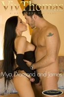 Mya Diamond and James Brossman