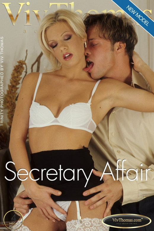 Trinity A & Clark - `Secretary Affair` - by Viv Thomas for VIVTHOMAS