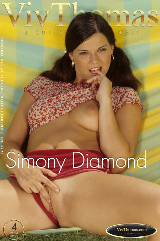 Simony Diamond - `Simony Diamond` - by Viv Thomas for VIVTHOMAS