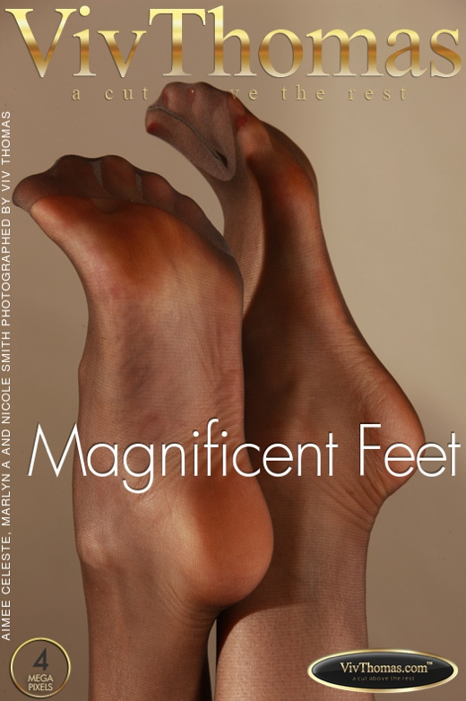 Aimee Celeste & Marlyn A & Nicole Smith - `Magnificent Feet` - by Viv Thomas for VIVTHOMAS