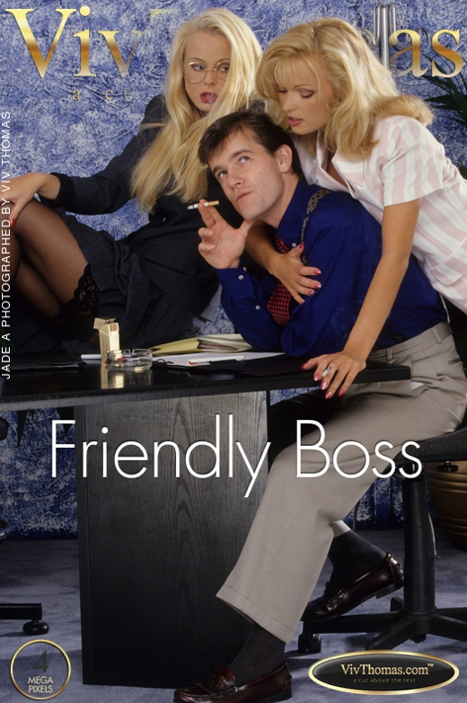 Claire B & Jade A - `Friendly Boss` - by Viv Thomas for VIVTHOMAS