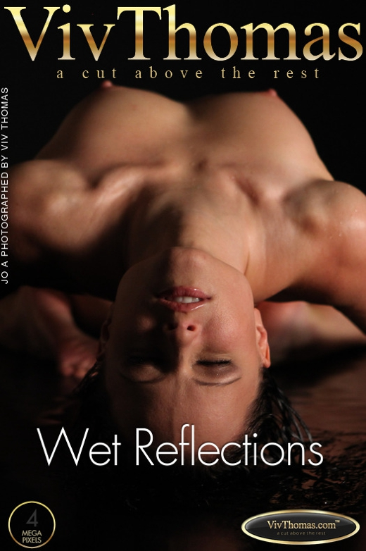 Jo - `Wet Reflections` - by Viv Thomas for VIVTHOMAS