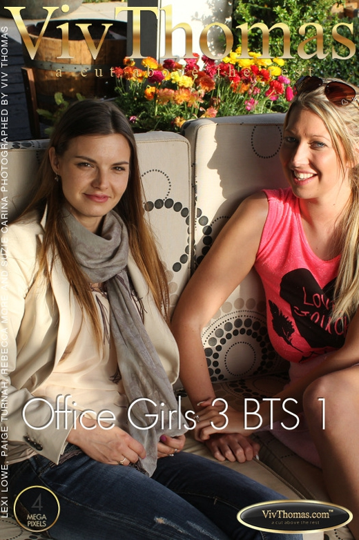 Lexi Lowe & Rebecca More & Suzie Carina - `Office Girls 3 BTS Part One` - by Viv Thomas for VIVTHOMAS