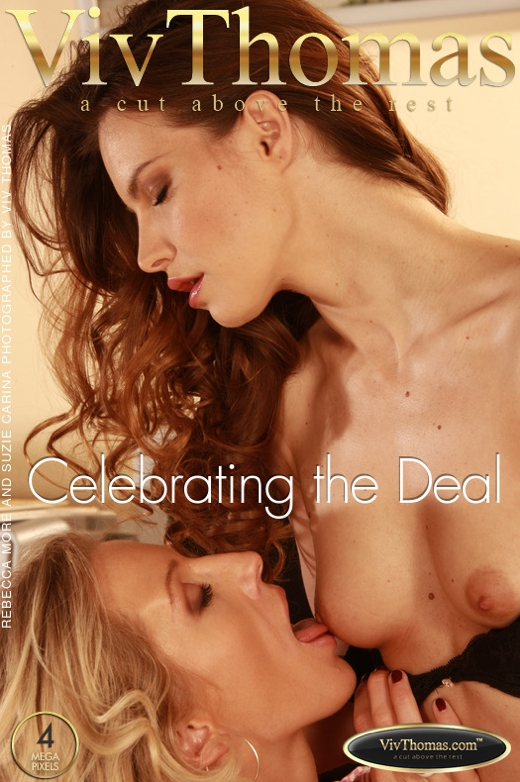 Rebecca More & Suzie Carina - `Celebrating the Deal` - by Viv Thomas for VIVTHOMAS