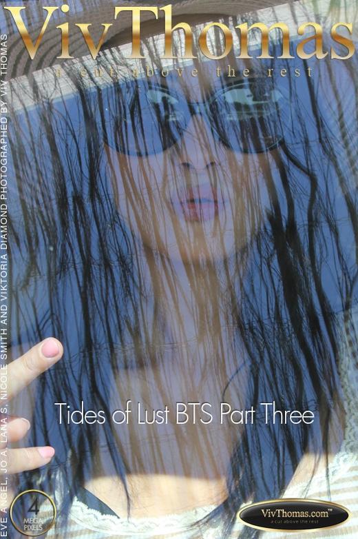 Eve Angel & Jo & Lana S & Nicole Smith & Viktoria Diamond - `Tides of Lust BTS Part Three` - by Viv Thomas for VIVTHOMAS