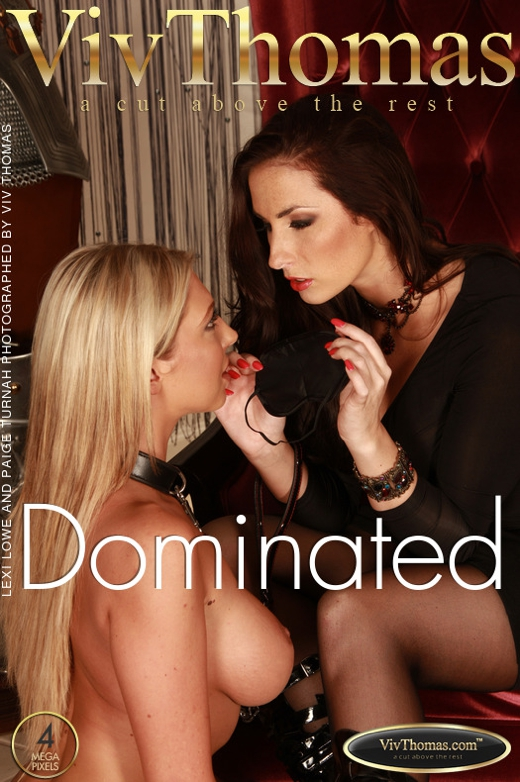 Lexi Lowe & Paige Turnah - `Dominated` - by Viv Thomas for VIVTHOMAS