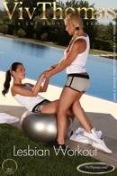 Lesbian Workout - Lana & Nicole