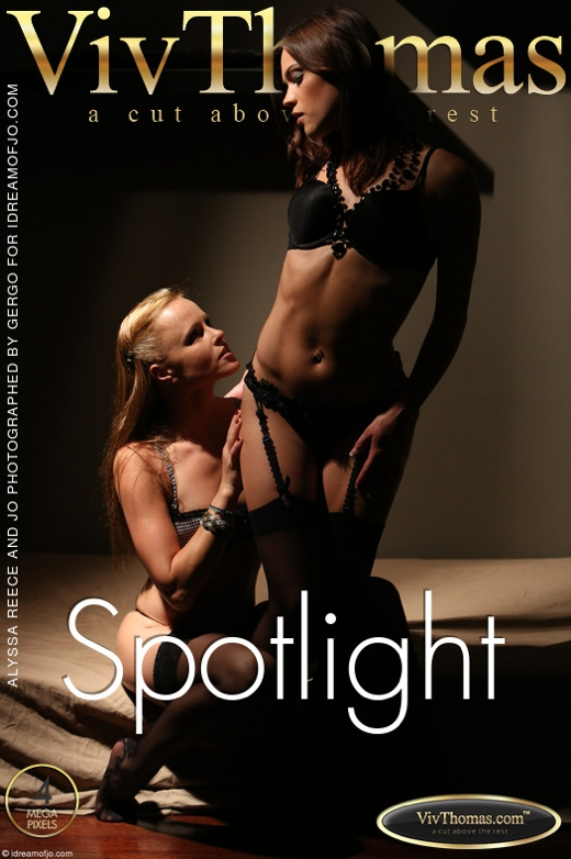 Alyssa Reece & Jo - `Spotlight` - by Viv Thomas for VIVTHOMAS