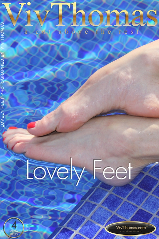 Bianca Golden & Blue Angel & Kitty Cat & Viktoria Diamond - `Lovely Feet` - by Viv Thomas for VIVTHOMAS