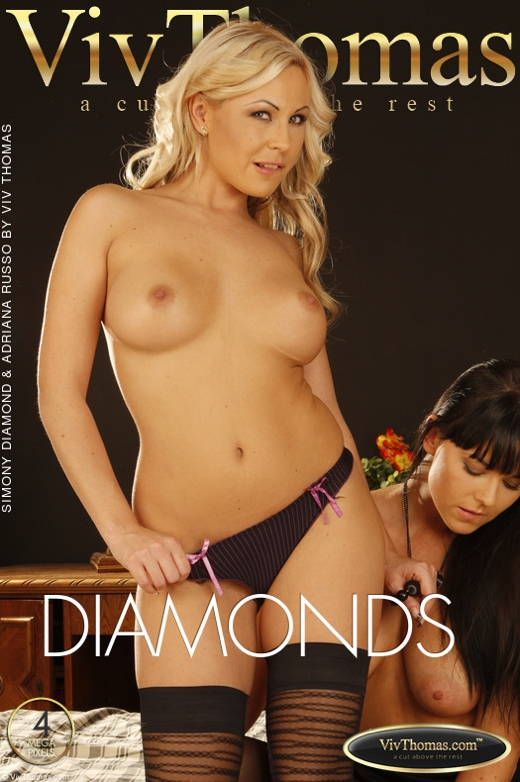 Adriana Russo & Simony Diamond - `Simony Diamond & Adriana Russo` - by Viv Thomas for VIVTHOMAS