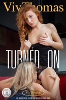 Cristal Caitlin & Eva Berger in Turned On gallery from VIVTHOMAS by Andrej Lupin