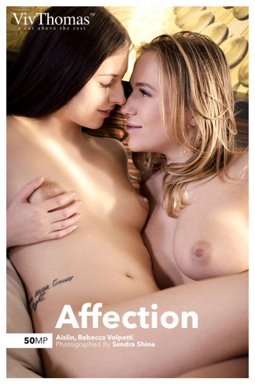 Aislin & Rebecca Volpetti in Affection gallery from VIVTHOMAS by Sandra Shine