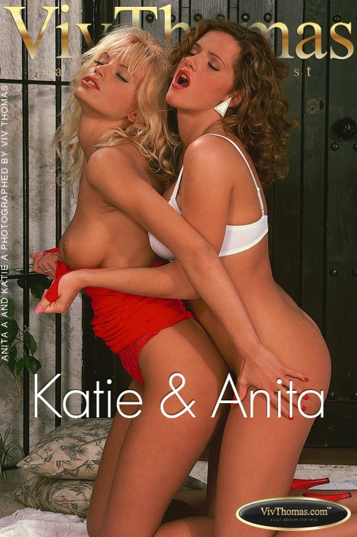 Anita A & Katie A - `Katie & Anita` - by Viv Thomas for VT ARCHIVES