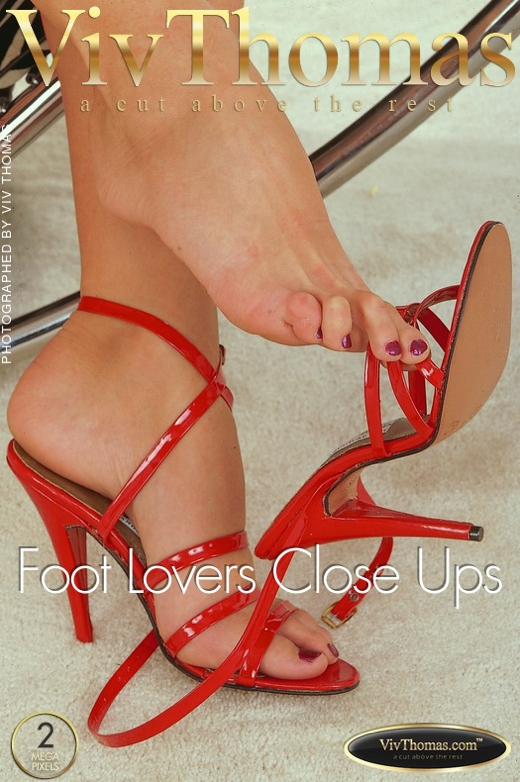 Adele Stephens - `Foot Lovers Close Ups` - by Viv Thomas for VT ARCHIVES