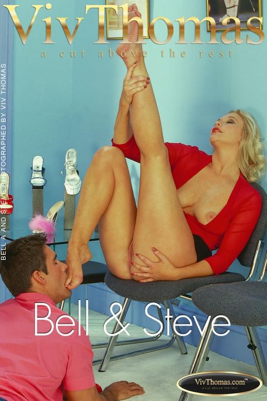 Bell A & Steve - `Bell & Steve` - by Viv Thomas for VT ARCHIVES