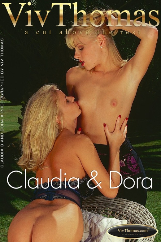 Claudia B & Dora A - `Claudia & Dora` - by Viv Thomas for VT ARCHIVES