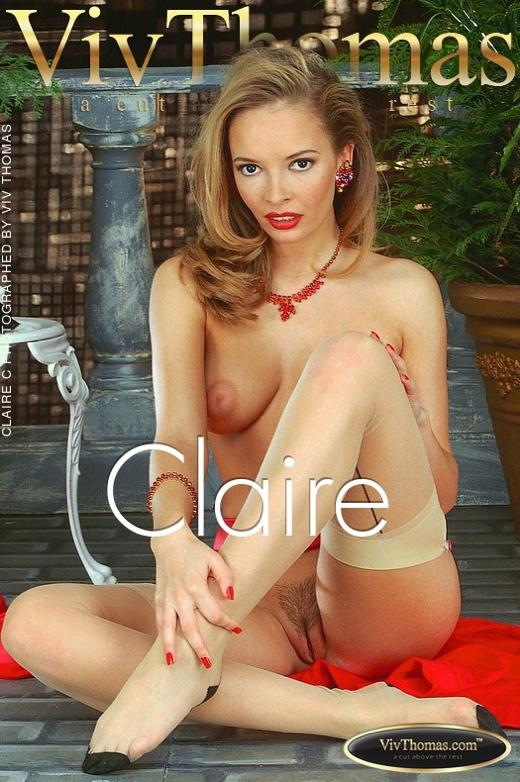 Claire C - `Claire` - by Viv Thomas for VT ARCHIVES