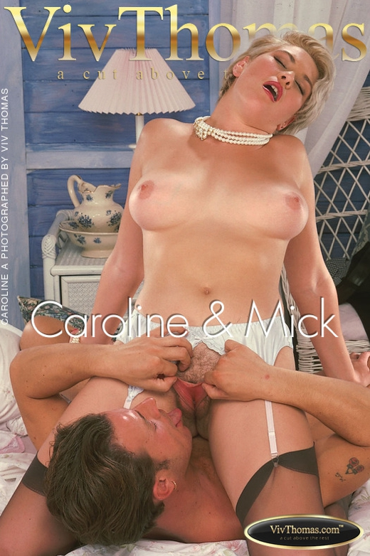 Caroline A - `Caroline & Mick` - by Viv Thomas for VT ARCHIVES