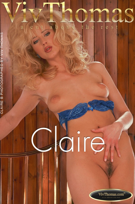 Claire B - `Claire` - by Viv Thomas for VT ARCHIVES