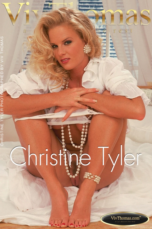 Christine Tyler - `Christine Tyler` - by Viv Thomas for VT ARCHIVES
