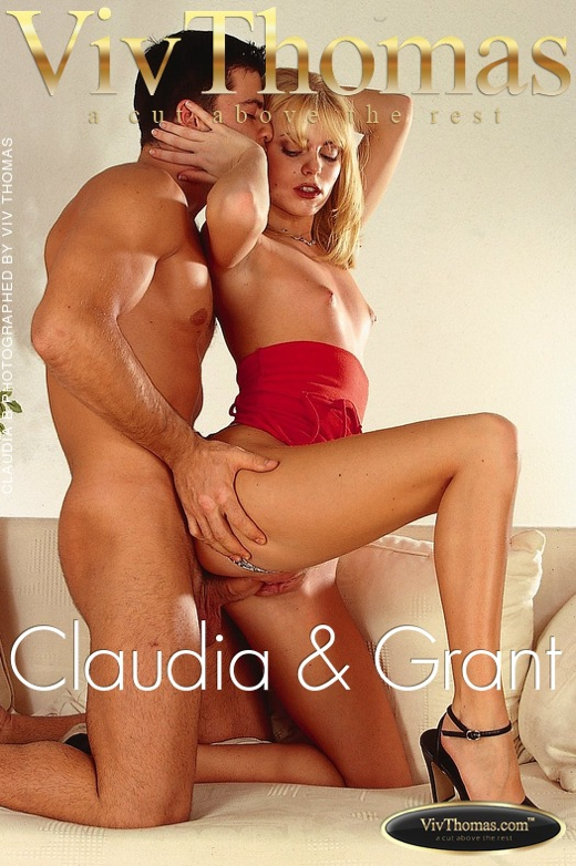 Claudia B & Carlos Grant - `Claudia & Grant` - by Viv Thomas for VT ARCHIVES