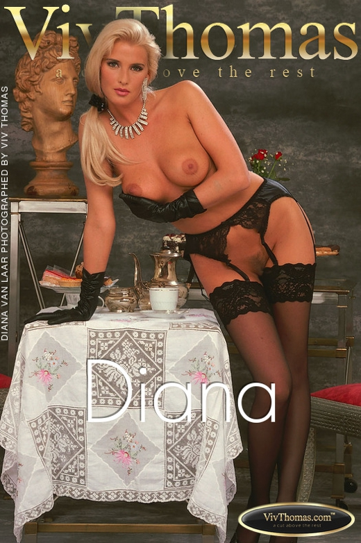 Diana van Laar - `Diana` - by Viv Thomas for VT ARCHIVES