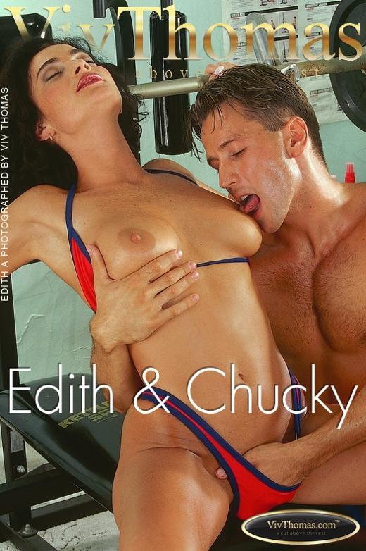 Edith A - `Edith & Chucky` - by Viv Thomas for VT ARCHIVES