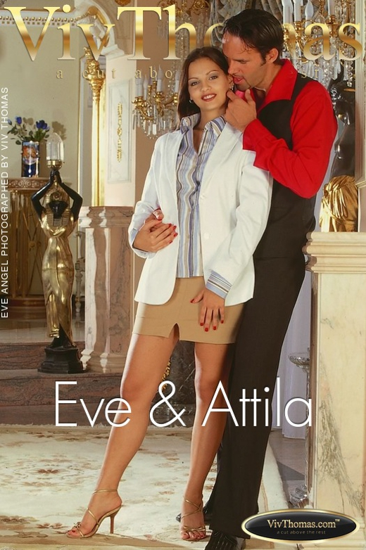 Eve Angel & Attila - `Eve & Attila` - by Viv Thomas for VT ARCHIVES