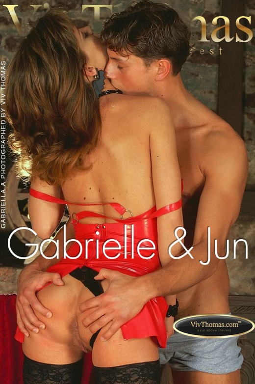 Gabriella A - `Gabrielle & Jun` - by Viv Thomas for VT ARCHIVES