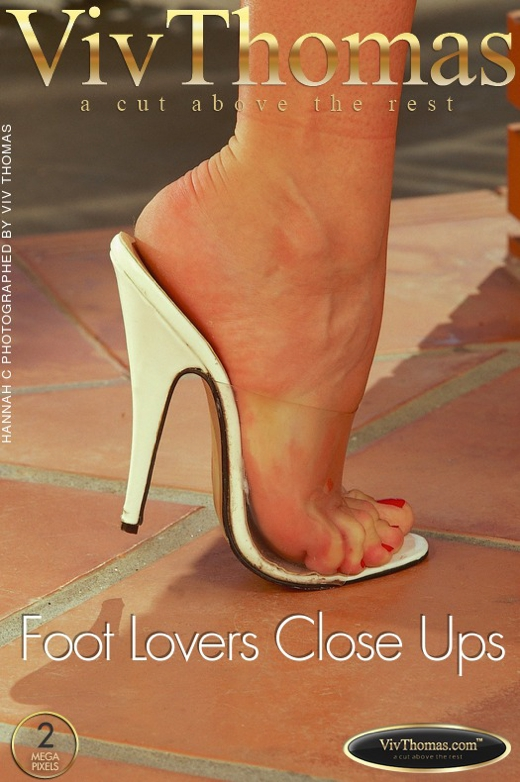 Hannah C - `Foot Lovers Close Ups` - by Viv Thomas for VT ARCHIVES