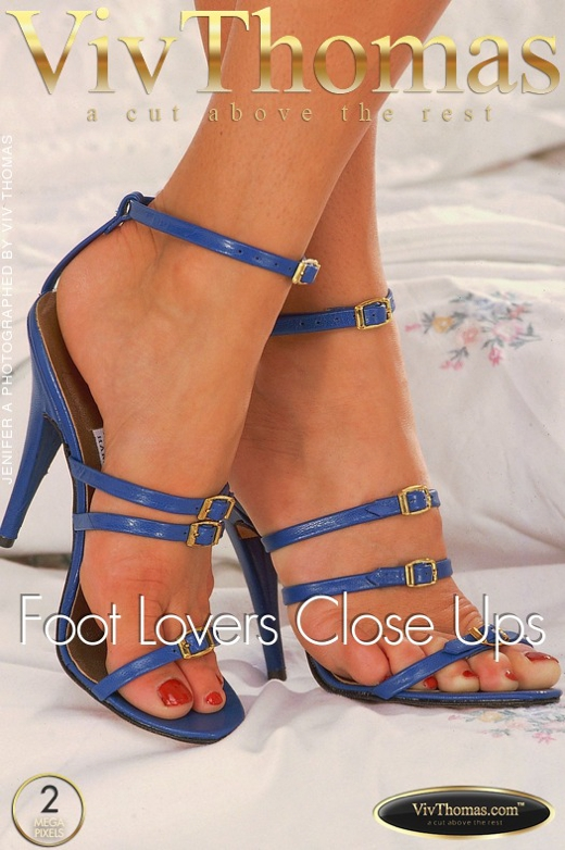 Jenifer A - `Foot Lovers Close Ups` - by Viv Thomas for VT ARCHIVES