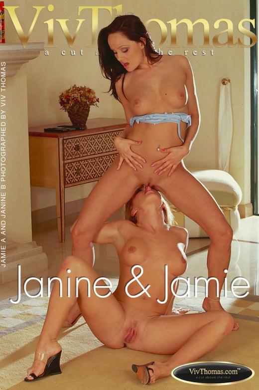 Jamie A & Janine B - `Janine & Jamie` - by Viv Thomas for VT ARCHIVES