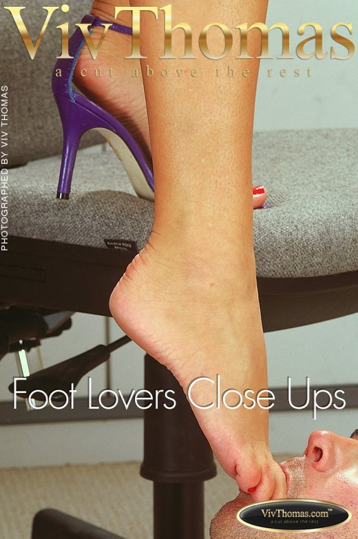 Karina A - `Foot Lovers Close Ups` - by Viv Thomas for VT ARCHIVES