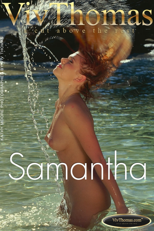 Kathy Moore - `Samantha` - by Viv Thomas for VT ARCHIVES